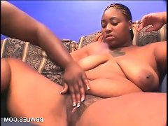 Slutty bbw lesbo ebony gets..