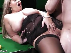 Bbw gets pussy licked and..