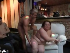 Bbw friends having a great..