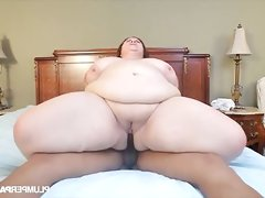 Bbw milf lady lynn enjoying..