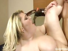 Plump blonde skye sinn takes..
