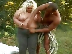 Helga bbw oiled down and..