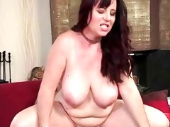 Busty mature bitch enjoys..