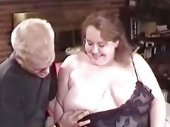 Bbw in lingerie gets fucked
