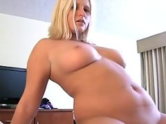 Teen slut enjoys sex action