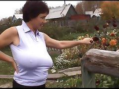 Gigantic boob russian milfs