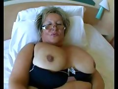 Bbw granny with big tits in..
