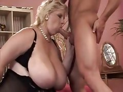 Bbw mature and young boy