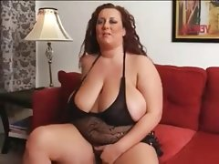 Solo bbw mature woman with..
