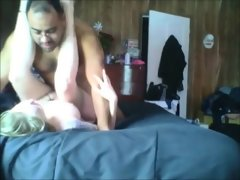 Chunky amateur wife cheating..